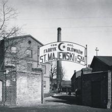 St-Majewski dawniej, fot. archiwum firmy